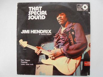 VINYL LP JIMI HENDRIX & CURTIS KNIGHT          THAT SPECIAL SOUND