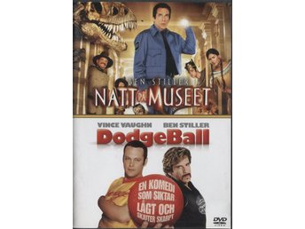 Night at the Museum & DodgeBall - 2 Disc - OOP - DVD - Ben Stiller - Bålsta - Night at the Museum & DodgeBall - 2 Disc - OOP - DVD - Ben Stiller - Bålsta