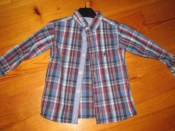 Rutig skjorta LAGER 157 stl.100 i FINT SKICK - Linneryd - Rutig skjorta LAGER 157 stl.100 i FINT SKICK - Linneryd