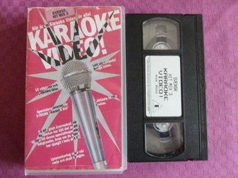 KARAOKE VIDEO ! , VHS, FILM - Anderstorp - KARAOKE VIDEO ! , VHS, FILM - Anderstorp
