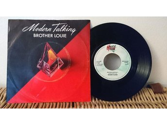Modern Talking - Brother Louie - 7'' vinyl Mega Records VG++++