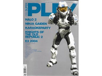 SUPER PLAY NR 99  2004 - HALO 2 , NINJA GAIDEN ...