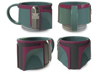 Mugg 3D - Star Wars - Boba Fett 300ml