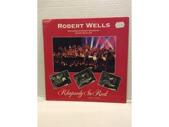 Robert Wells Rhapsody On Rock 1990 skck MVG+ GEFLE