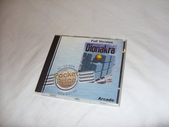 Dionakra Arcade Full Version PC CD ROM spel pussel Midas Interactive 1999