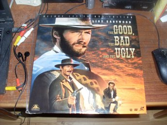The Good the bad and the ugly laserdisc clint eastwood eli wallach western ntsc