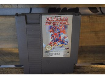 Nintendo - NES - Blades of Steel