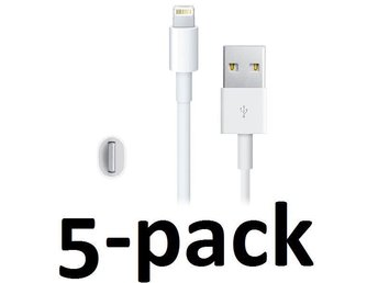 5st iphone 5,6,7,8 USB kabel FRIFRAKT