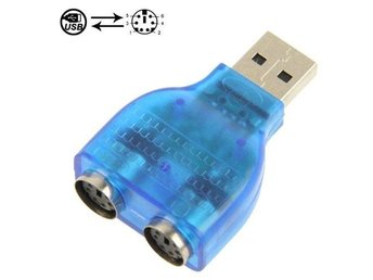 Usb till PS/2 adapter x 2