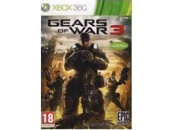 GEARS OF WAR 3   - XBOX 360  spel