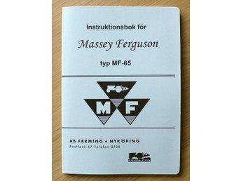 Instruktionsbok Massey Ferguson MF 65 me   (354032159) ᐈ UT