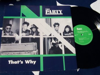 "PARTY THE - THAT´S WHY 12"" 1991"