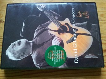 DAVID GILMOUR (PINK FLOYD) - IN CONCERT (DVD) ´02