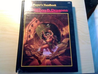 Ad&d players handbook dungeons and dragons