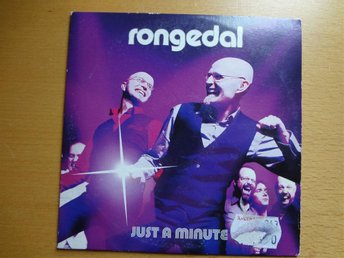 RONGEDAL Just a minute Melodifestivalen 2008 CD Singel