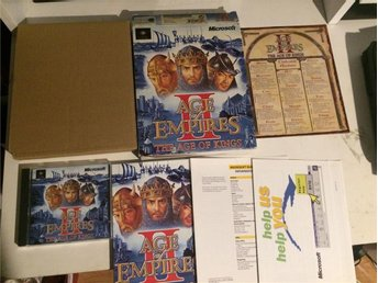 Age of Empires 2 The Age of Kings (lådan inte i bästa skick) BigBox - Bettna - Age of Empires 2 The Age of Kings (lådan inte i bästa skick) BigBox - Bettna