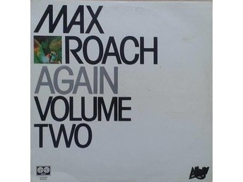 Max Roach title* Again Volume Two* Jazz Spain LP