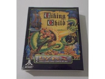 Atari Lynx: Viking Child! NYTT!