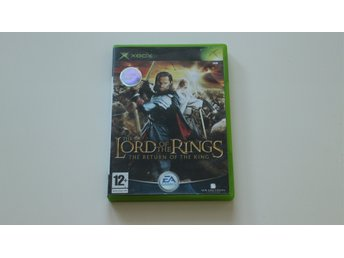 Lord of the rings The return of the king OG XBOX