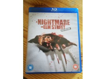 A nightmare on Elm Street collection blu-ray.