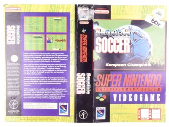 Sensible Soccer (Original Rental Cover Paper) -