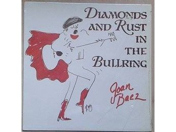 Joan Baez title* Diamonds And Rust In The Bullring* LP US RARE NM