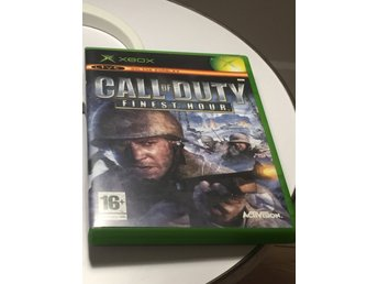 Call of Duty Finest Hour till Xbox
