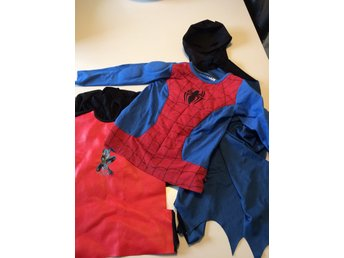 Maskeradpaket, batman , spiderman str 116