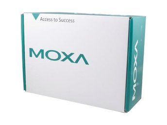 Moxa serieports server, 4xRS-232 med LCD-display