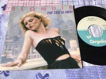 "BLONDIE - THE TIDE IS HIGH 7""1980"