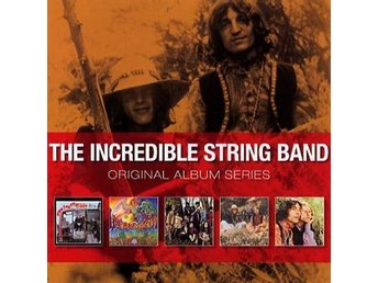 Incredible String Band: Original album s.1966-68 (5 CD)