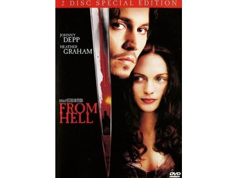 DVD - From Hell (Johnny Depp) (2-disc) (Beg)