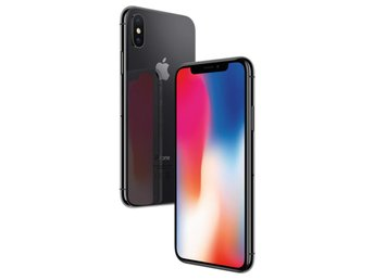 iPhone X 64GB Rymdgrå Olåst