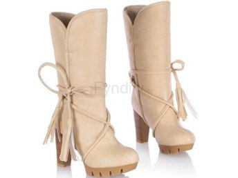 Dam Boots quality footwear boot shoes P19982 Beige 39