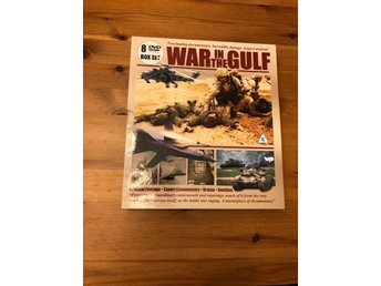 War In The Gulf -8 dvd collectors boxset
