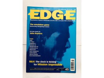EDGE 44 May 1997 Mission Impossible, Castlevania 64, Bomber man 64