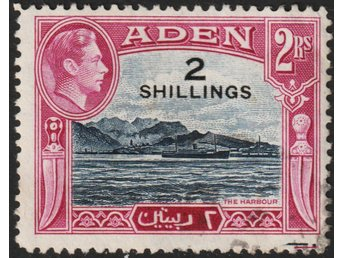 Aden, SG44, 1951 Surcharge 2s/2r, kat £3,75
