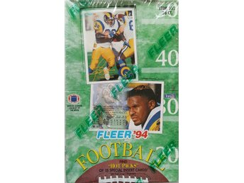 1994 Fleer NFL Football Box
