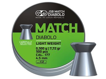 JSB Match Diabolo - Pistol 4,50mm