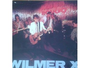 Wilmer X ‎ titel*Klubb Bongo* Blues Rock, Rock & Roll Swe LP