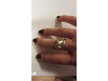 Marc Jacobs ring i st.small 16,5 Äkta! Ny!