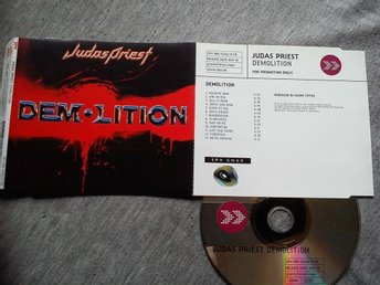 JUDAS PRIEST-Rare Ny Cd Promo 2001-Slimcase Different Artwork-Heavy Metal!