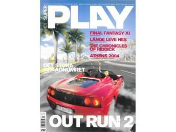 SUPER PLAY NR 101  2004 -OUTRUN 2, FINAL FANTASY XI...