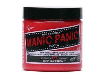 Manic Panic Red Passion Tuff Hårfärg Snabb Leverans - Träslövsläge - Manic Panic Red Passion Tuff Hårfärg Snabb Leverans - Träslövsläge