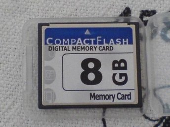 Micro minneskort CompactFlash CF 8 GB - Stockholm - Micro minneskort CompactFlash CF 8 GB - Stockholm