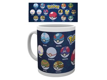 Mugg - Pokemon - Pokeball Varieties (MG1723)