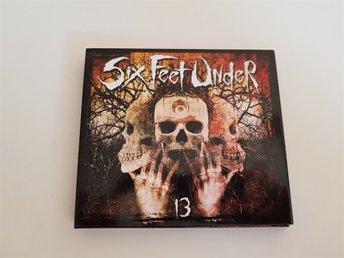 Six Feet Under - 13 Deathmetal Digipack 2CD - älvängen - Six Feet Under - 13 Deathmetal Digipack 2CD - älvängen