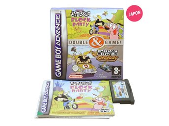 Cartoon Network Double Game Block Party & Speedway (UKV Svensk version)