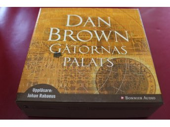 CD-bok: Gåtornas palats - Dan Brown