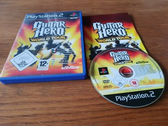 GUITAR HERO WORLD TOUR PS2 BEG